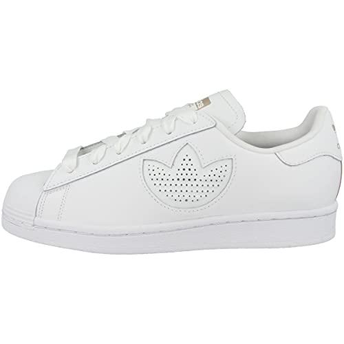 adidas Low Superstar - Zapatillas deportivas para mujer, color Blanco, talla 36 2/3 EU