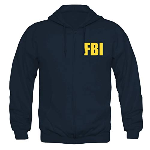Tex-Ha FBI Logo blau Kapujacke (XL)