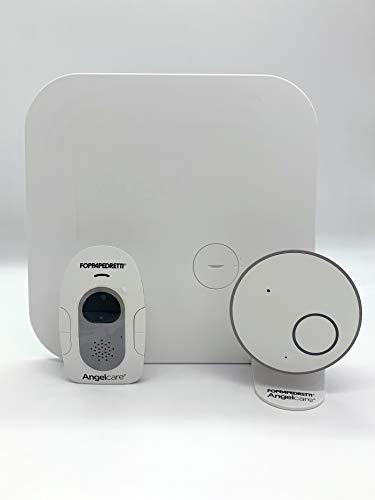 Foppapedretti Angelcare AC517 Monitor per Neonati con Sensore di Movimento, Bianco
