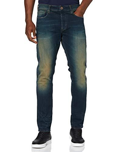 G-STAR RAW 3301 Slim Fit Vaqueros, Antic Blight Green, 34W / 36L para Hombre