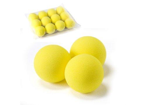 PGA Tour LC/0032BL - Pack de 12 pelotas de golf de gomaespuma de golf, color amarillo