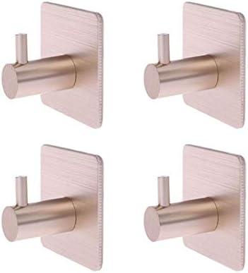 GyLazhuzizgg Wall Hooks 4 Pcs Adhesive Place Ego W Year-end annual New product!! account Kitchen