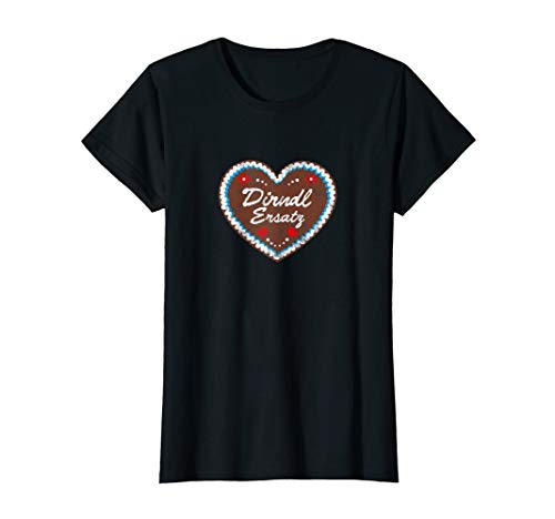 Damen Oktoberfest Shirt Lebkuchen T Shirt Mei DIRNDL ERSATZ Tshirt T-Shirt
