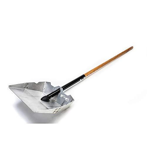The Alpha Driveway Snow Shovel & Pusher - Bundle - Complete Set Including Blade and Shaft