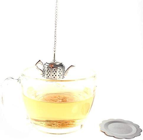 Rustless Mini Tea Diffuser Praktische eenvoudig te reinigen theepotvorm voor theehuis