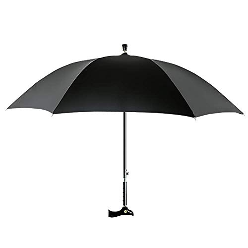 IF.HLMF Cane Regenschirm Alter Mann Sonnenschirm Bergsteigen Regenschirm Krücke Stahl Anti-Rutsch-Kletterschirm Kletterschirm