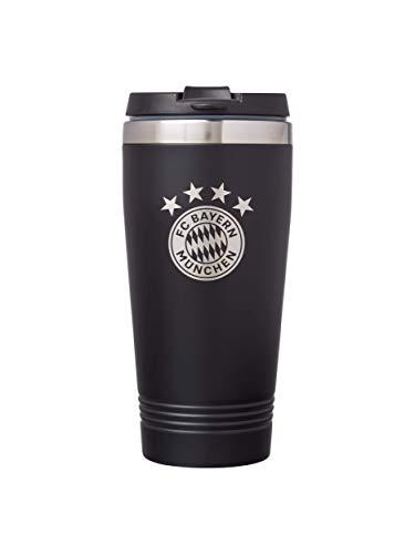 FC Bayern München Thermobecher Edelstahl, Füllmenge 0,4 Liter