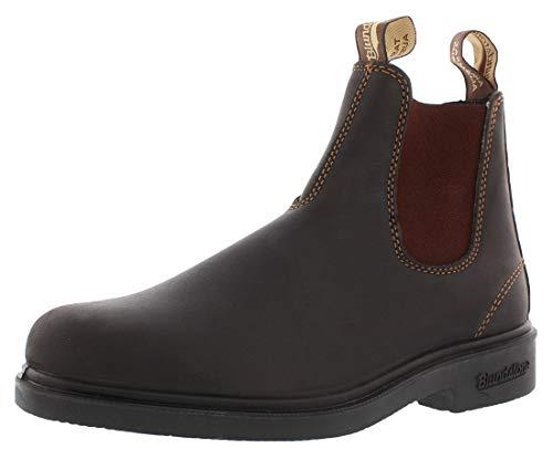 BLUNDSTONE Chisel Toe 062, Unisex-Erwachsene Chelsea Boots, Braun (Brown), 46 EU