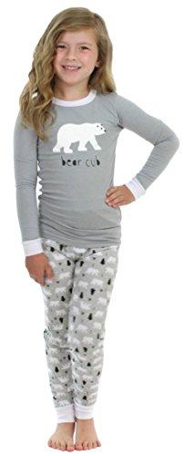 Sleepyheads Kids Bear Pyjama - Grey Top (SHM-4038-K-EU-3T)