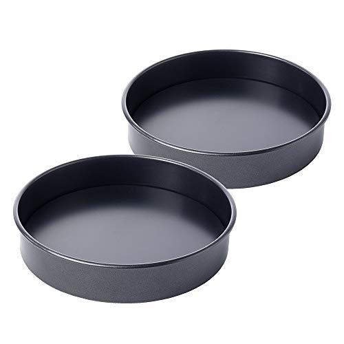ProCook - Set de Moules à Gâteau Bas à Fond Amovible Antiadhésifs - 2 Pièces - Diamètre 20cm