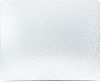 Surface Saver Vance 20 X 16 inch Clear Tempered Glass Cutting Board  20 X 16-Inch