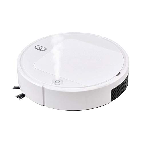 Sale!! MIMI KING Fully Automatic 3 in 1 Smart Robot Vacuum Cleaner USB Charging Sweeping Robot Dry a...