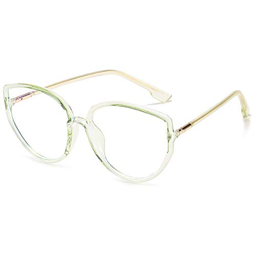 Gafas de Bloqueo de luz Azul Gafas para Juegos de computadora TR Montura de anteojos Trend Big Frame Gafas Lectura Anti-Fatiga Visual para Mujeres y Hombres,A