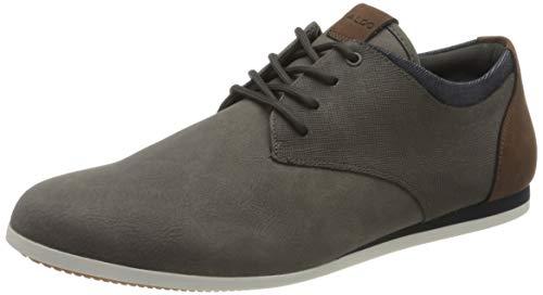 ALDO Herren AAUWEN-R Oxford-Schuh, Andere Grau, 39 2/3 EU