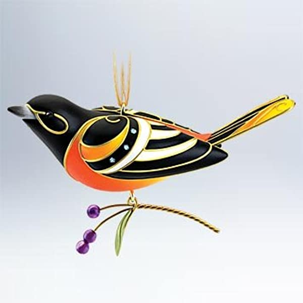 Hallmark Baltimore Oriole 7 Beauty Of Birds Series 2011