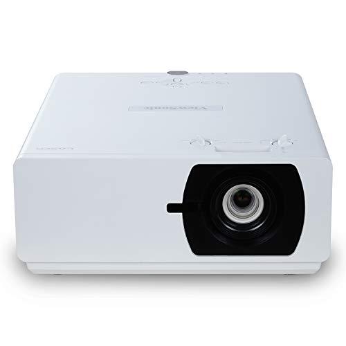 Viewsonic LS800WU Laser DLP Beamer (WUXGA, 5.500 ANSI Lumen, 3x HDMI, USB, 1.65x optischer Zoom, 24/7 Betrieb) weiß