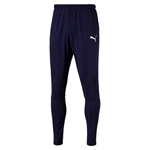 Puma Liga Training Pants Pro Pantalones, Hombre, Morado (Peacoat White), S