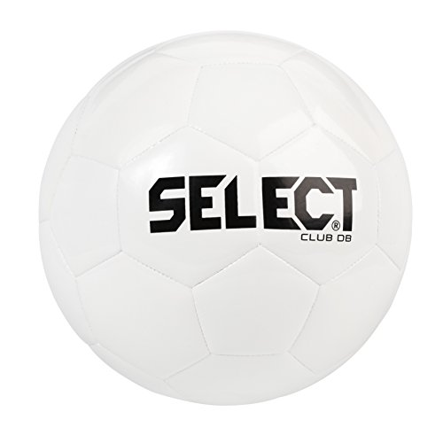 Select Club DB Soccer Ball, White, Size 5
