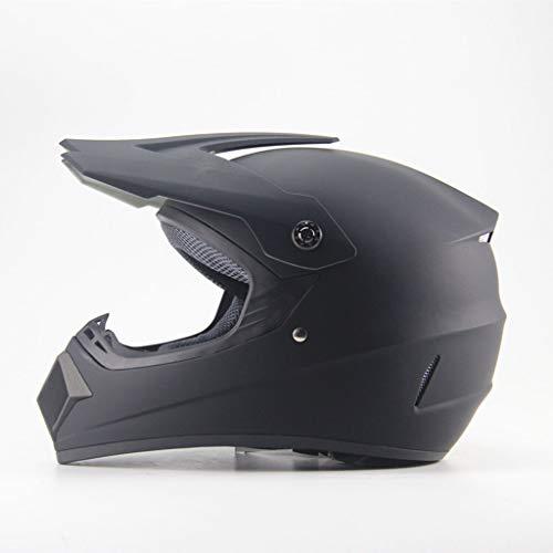 Casques intégraux Personnalité Quatre Saisons Moto Casques Hors-Route Batterie Casque Voiture Vélo De Montagne Casque Intégral Descente Pirate (Couleur : 3-XL_59-60CM)