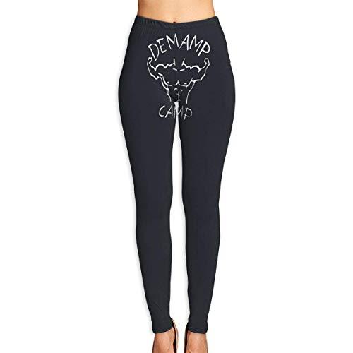 Irener Leggings de Entrenamiento Deportivo con pantalón de Yoga Demamp Camp High Waist Tummy Control Womens Yoga Workout Pantsn
