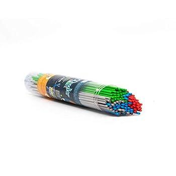 3Doodler Start EcoPlastic 100pc - Pow  Grey Blue Red Green