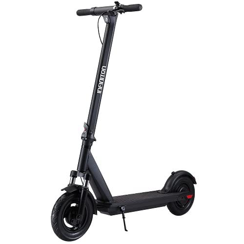 INFINITON Patinete eléctrico CITYJAM Pro Black, Autonomía de 40-45km, Velocidad 25km/h, Suspensión Delantera Fully Soft, Ruedas 10´