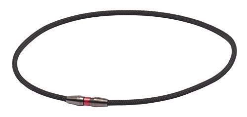 ファイテン(phiten) ネックレス RAKUWAネック EXTREME スタンダード ブラック/レッド 50cm