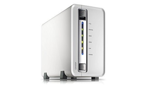 QNAP TS-212P-8TB-SEA - 8TB (Seagate NAS HDDs) TS-212P Turbo NAS 2-bay wih iSCSI and RAID 0/1; Marvell 6281 1.6Ghz CPU; 512RAM; built-in UPnP/ DLNA media server; airplay; web server; multimedia server; iTunes server; Windows AD authentication; cloud sync and backup; 1 x 1Gb (2years warranty)