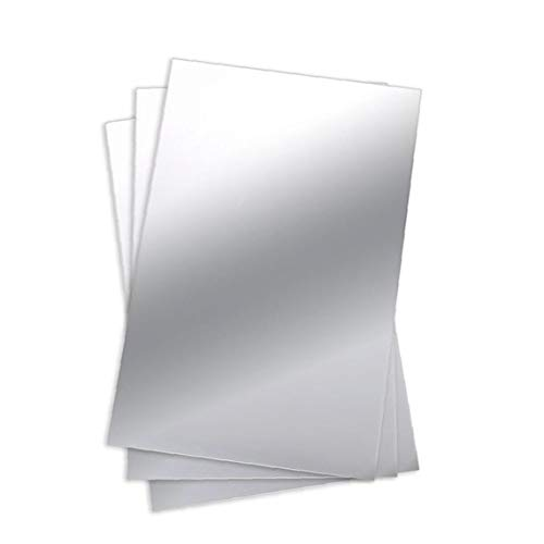 Hoja Espejo de PVC Flexible para no Espejo de Cristal Azulejos Pegatina para el hogar decoración de la Pared, Pared Pegatinas