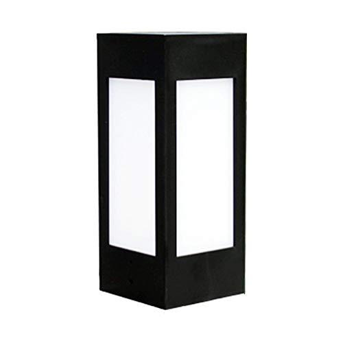 Seawang Solar Hek Post LED Cap Licht Waterdicht Buiten Tuin Zwembad Straat Lamp