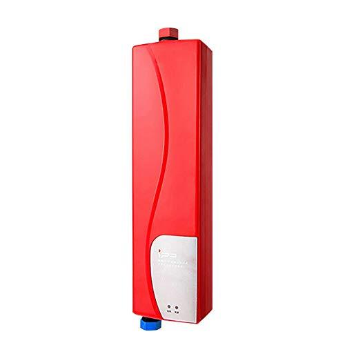 Durchlauferhitzer HaroldDol 3KW Elektronisch Sofort Dusche Warmwasserbereiter Warmwasserspeicher für Küche und Bad