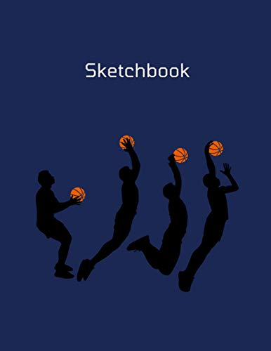 Sketchbook: Notebook for Drawing, Writing, Painting, Sketching or Doodling, 110 Pages, 8.5x11 inch