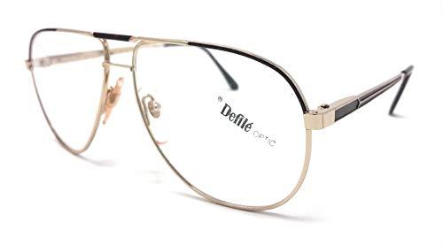 Master 471 R 52 - Gafas de vista para hombre y mujer, color dorado y tortuga vintage