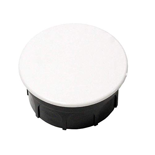 BeMatik - Caja empotrada de Registro eléctrico Redonda 40x65mm