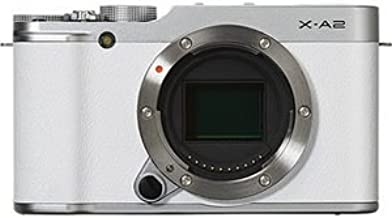 Fujifilm X-A2 Mirrorless Digital Camera (White Body Only) - International Version (No Warranty)