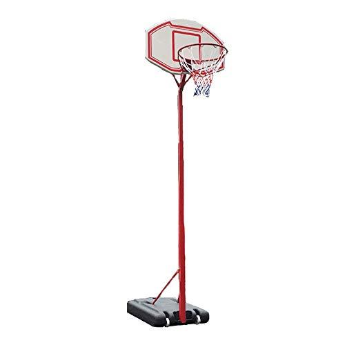 Stand de la juventud al aire libre movible de baloncesto, baloncesto Niños De pie, con red y la bola al aire libre de interior ajustable Juego de Juego de Deportes Juego Juego de soporte de aro de bal