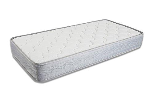 Seasons- Colchón de cuna muelles y fibra de coco,antiahogo con malla 3D , 57x117 para cuna de 60x120 cms