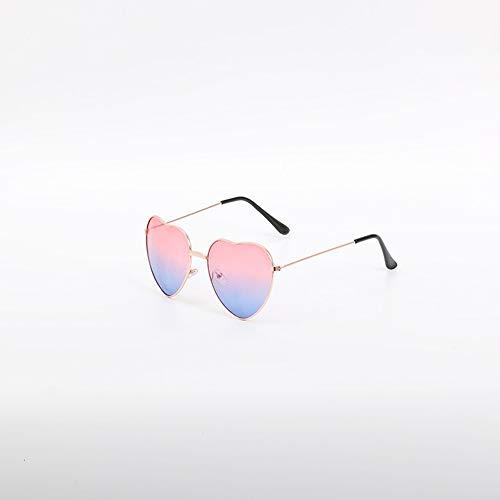 Metal Love Sonnenbrillen Herz Ocean Sonnenbrillen Powder Blue