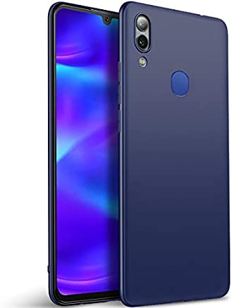 Tarkan Royal Ultra Slim Flexible Soft Back Case Cover for Samsung Galaxy M20 (Blue) 360 Degree Coverage