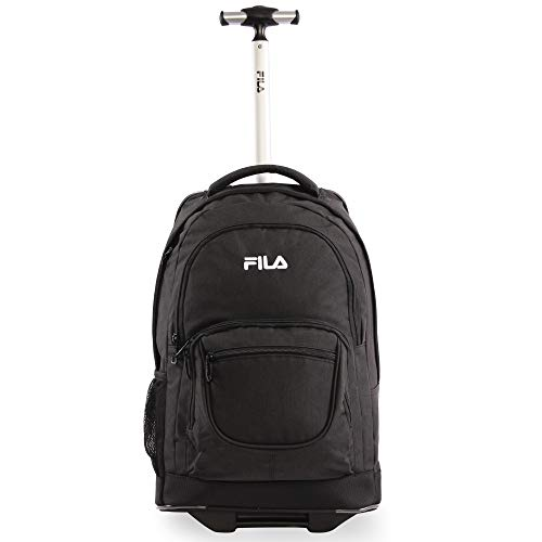 Fila Rolling Backpack, Black, One Size