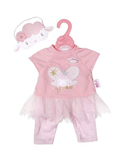 Zapf Creation 702048 Baby Annabell Sweet Dreams Nachtfee 43cm, rosa