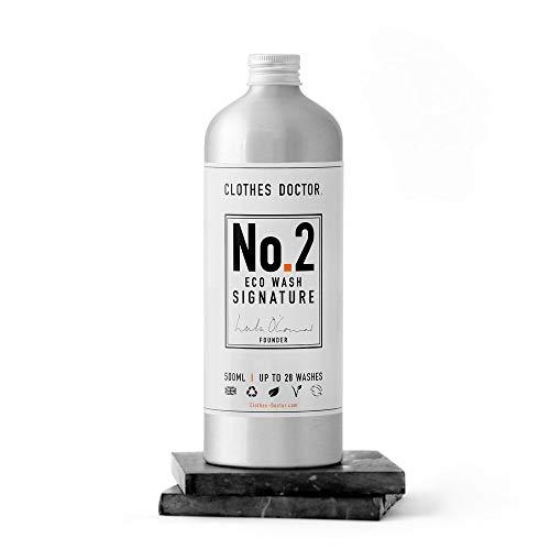 Umweltfreundliches Waschmittel, kein Bio-Waschpulver, vegan, pflanzlich, natürlicher Reiniger, ohne Tierversuche hergestellt 500 ml