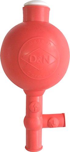 KOKOTT Sicherheits-Pipettierball Flip Peleusball Naturkautschuk, rot
