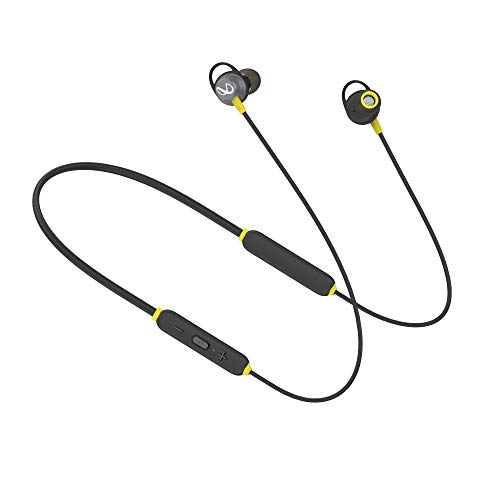 Infinity (JBL) Glide 120 Metal in-Ear Wireless Flex Neckband with Bluetooth 5.0 and IPX5 Sweatproof (Black and Yellow)