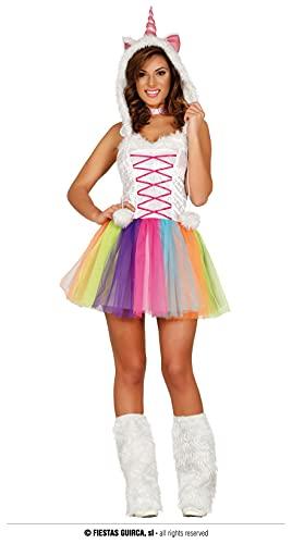 FIESTAS GUIRCA Disfraz de Unicornio Mujer Adulta Talla S 36-38