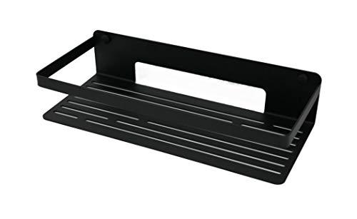 tradeNX - Estante útil para la ducha con los materiales de montaje, color negro