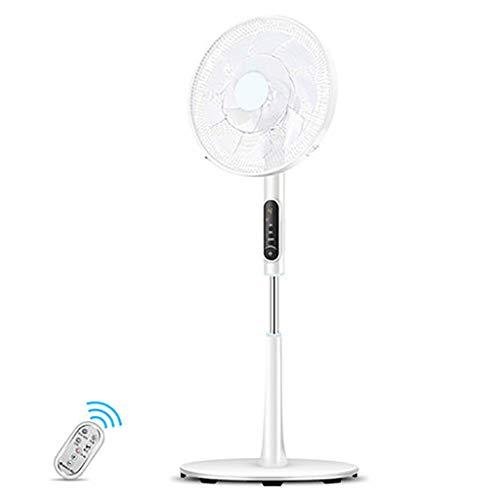 Ventilador Móviles Ventilador Eléctrico Portatil Piso-a-Techo Ventilador Con Control Remoto Temporizador De 12h Regulable En 22 Velocidades Para Oficina Y Hogar