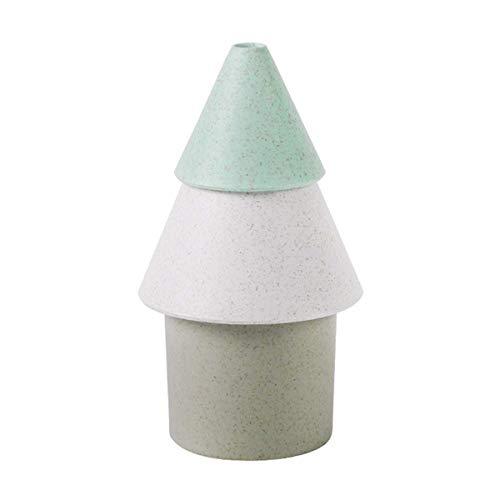 Wanglongbaihuo Difusor portátil y humidificador de niebla fría, humidificador de árbol de la vida, USB, estilo simple, mini portátil (color: verde)