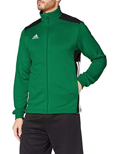 adidas Giacca Regista 18, Sportiva Uomo, Verde (Bold Green/Black), XS
