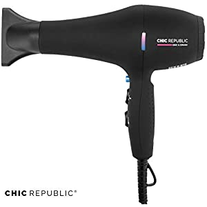 Beauty Shopping Professional Ionic Hair Dryer – Powerful Ceramic Blow Dryer – Quiet & Fast Hairdryer – Small, Lightweight Compact for…